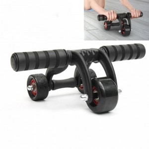 Multi-Functional Portable Trainer - AB roller and push-up bar - waseeh.com