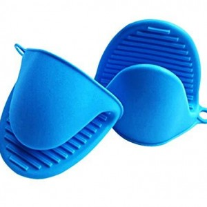 Silicone Oven Gloves Heat Resistant Mini Mitt Pot Holder - waseeh.com
