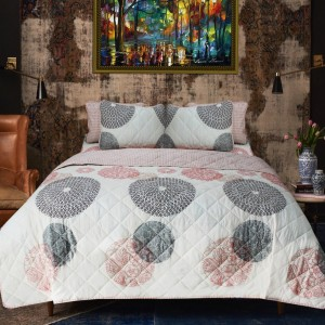 Touch of Grace - 6 Pieces - Bed Spread Set - Multi Floral - waseeh.com