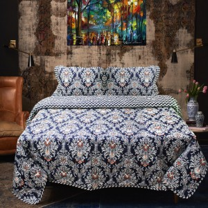Arabesque - Cotton Bed Spread Set - 6 pc - waseeh.com