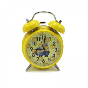 Kids Table Vintage Bell Clock - Minions - waseeh.com