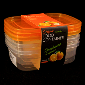 Pack of 3 Crisper Food Container Microwave - waseeh.com