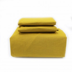 Fitted Sheet - Yellow - waseeh.com