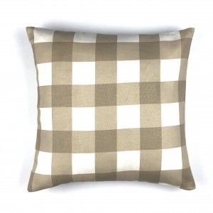 Contemporary Checked Cushion Cover - Throw Pillow Cover - waseeh.com