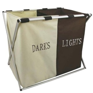 Double Laundry Basket - 2Color - waseeh.com