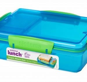 975ml Snack Attack Duo Lunch Box - waseeh.com