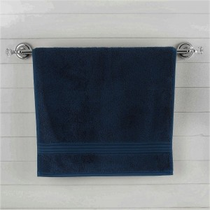Darkest Blue Egyptian Cotton Bath Towel - Single - waseeh.com