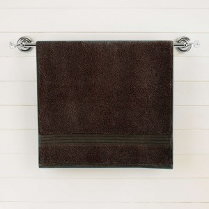 Dark Brown Egyptian Cotton Bath Towel - Single - waseeh.com