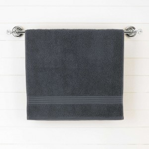 Dark Gray Egyptian Cotton Bath Towel - Single - waseeh.com