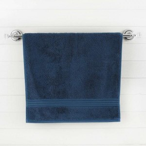 Dark Blue Egyptian Cotton Bath Towel - Single - waseeh.com