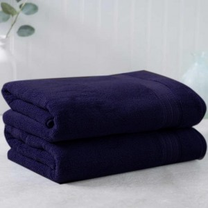 Dark Blue Egyptian Cotton Towel - Pack of 2 - waseeh.com
